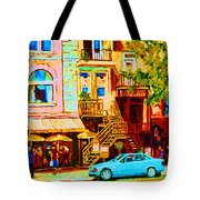 Beautiful Cafe Soleil Tote Bag
