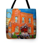 Beautiful Synagogue On Bagg Street Tote Bag