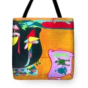 Beauty Contest For Aliens Tote Bag