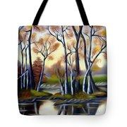 Birch Bay Lagoon Dreamy Mirage Tote Bag