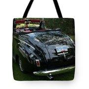Black And Chrome 13130 Tote Bag