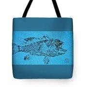 Black Sea Bass - Rockfish - Grouper Tote Bag