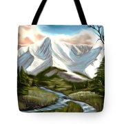 Break In The Storm Dreamy Mirage Tote Bag