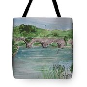 Bridge  In Bunclody, Ireland Tote Bag