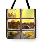 Broken Window Dreamy Mirage Tote Bag