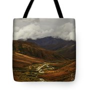 Brooks Range, Dalton Highway And The Trans Alaska Pipeline  Tote Bag