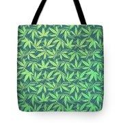 Cannabis   Hemp  420   Marijuana  Pattern Tote Bag