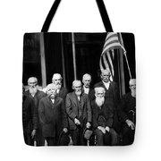 Civil War Veterans October 8 1923 Black White Tote Bag