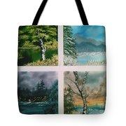 Colors Of Landscape Tote Bag