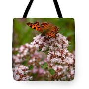 Comma Butterfly Tote Bag
