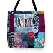 Composition Abstraite Tote Bag