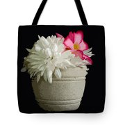 Desert Rose   Chrysanthemum And Adenium Obesum Tote Bag