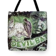 Devil Bat Movie Poster Horror Mosaic Tote Bag