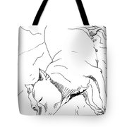 Dog Breed Tote Bag