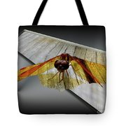 Eastern Amber Dragonfly 3d Tote Bag