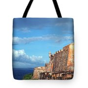 El Morro Fortress Rainbow Tote Bag