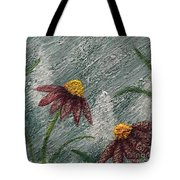 Flowers In The Breeze Tote Bag