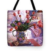 Fresh Tulips Tote Bag
