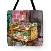 Fruit And Vegetable Stand In Nice, France Tote Bag