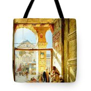 Gate Of The Great Mosque. Damascus Tote Bag