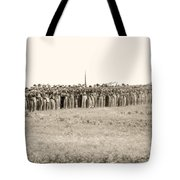 Gettysburg Confederate Infantry 0157s Tote Bag