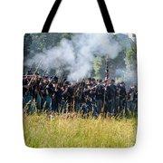 Gettysburg Union Infantry 9360c Tote Bag