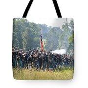 Gettysburg Union Infantry 9372c Tote Bag