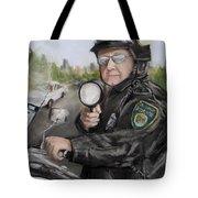 Gotcha Tote Bag by Jack Skinner