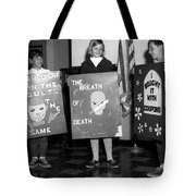 Grade School Children Kids Posters Circa 1960 Tote Bag