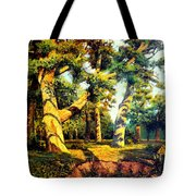 Green Summer-the Oak Forest Tote Bag