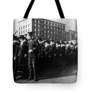 Group Women Females In Navy Circa 1918 Black Tote Bag