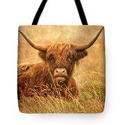 Happy Highlander Tote Bag