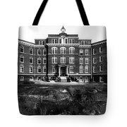 Hospital 1912 Black White 1910s Archive Brick Tote Bag
