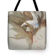 I Can Fly In My Dreams Tote Bag