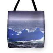 Iceberg Floating By Tote Bag