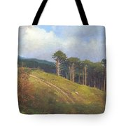 In The Crimean Mountains   Tote Bag