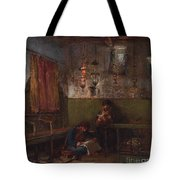 In The Synagogue Tote Bag