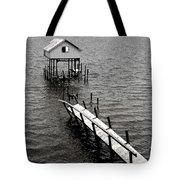 Indian River Pier Tote Bag