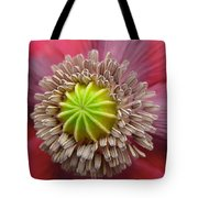 Inner Most Poppy Tote Bag