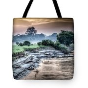 Irrawaddy River  Tote Bag