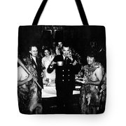 Jack Dempsey In Naval Uniform People Caveman Tote Bag