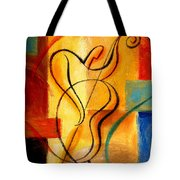 Jazz Fusion Tote Bag