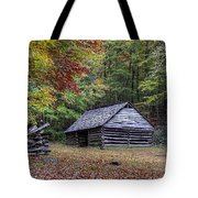 Jim Bales Place Barn Along Roaring Fork Motor Trail Tote Bag