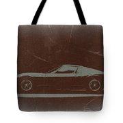 Lamborghini Miura Tote Bag by Naxart Studio