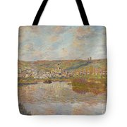 Late Afternoon Vetheuil Tote Bag