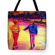 Lets Play Ball At Beaverlake Park Tote Bag