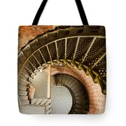 Lighthouse Stairs Cape Blanco Oregon 1 Tote Bag