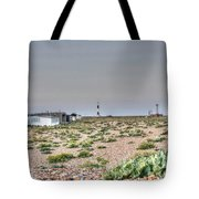 Lights On At The Lighthouse Tote Bag