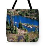 Lila Lake Tote Bag