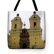 Lima Peru Church Tote Bag